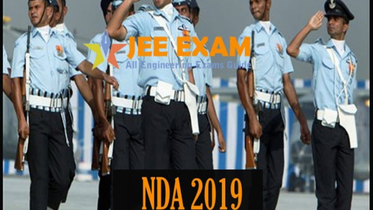 NDA 2019 (2) Admit Card (Out), Exam Date and Result