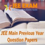 JEE Main Previous Year Question Papers